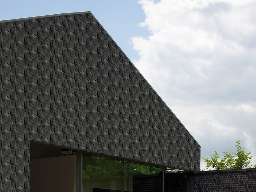Motif outdoor wallpaper QUBIK - Wall&decò