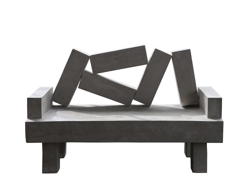Cement sofa QUEEN - Paolo Castelli