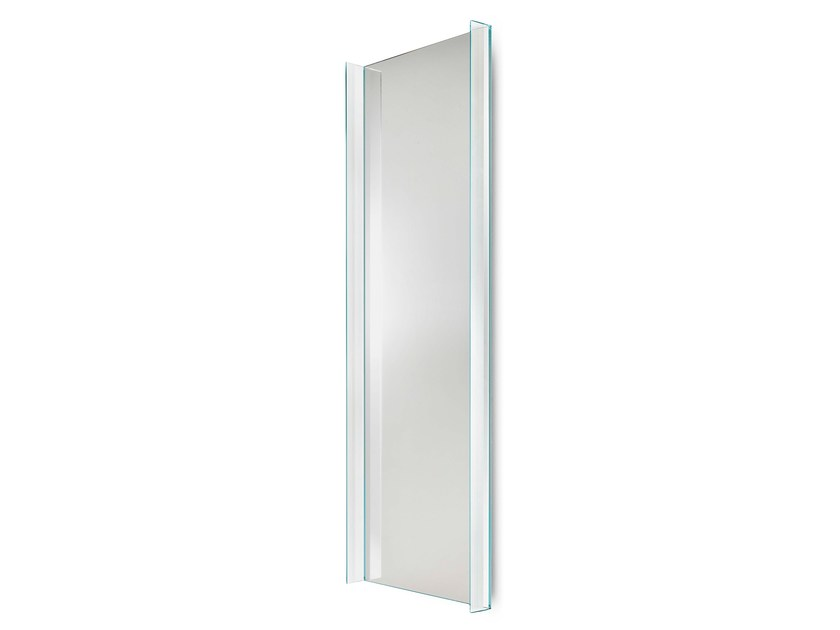 Rectangular wall-mounted mirror QUILLER | Rectangular mirror by Tonelli Design