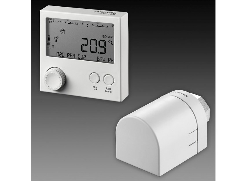 Heat regulation and hygrometric control R-TRONIC by OVENTROP