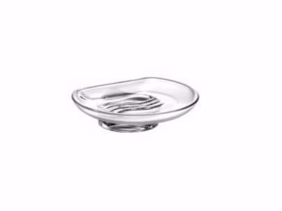 Portasapone da appoggio in vetro R03110 | Portasapone - INDA®