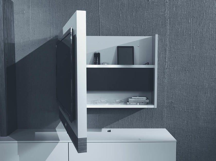 Mobile tv laccato orientabile sospeso rack evo fimar for Mobile tv sospeso