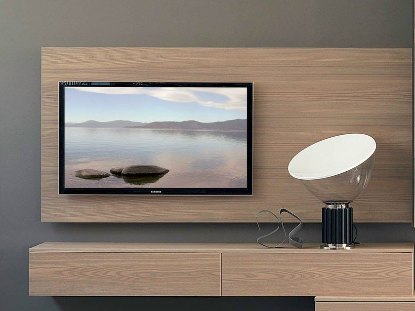 Wall-mounted TV cabinet RACK WIDE - Fimar