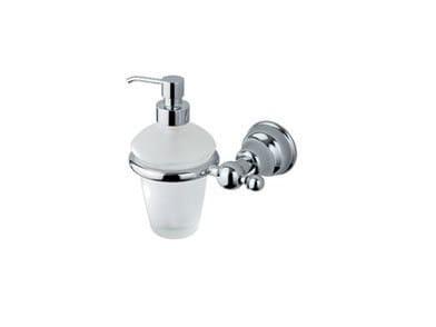 Dispenser di sapone liquido da parete in vetro RAFFAELLA | Dispenser di sapone liquido - INDA®