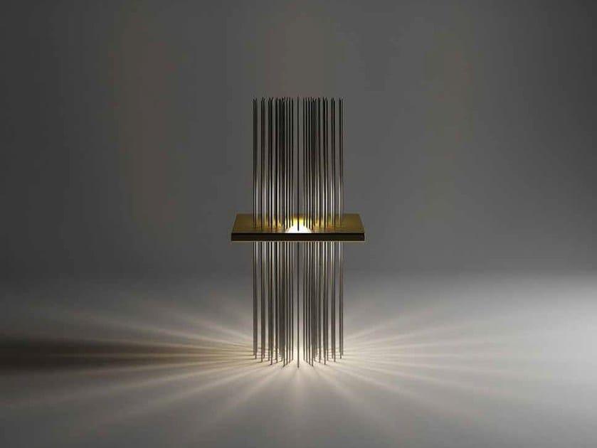 LED floor lamp RAGGIO DI LUCE - Paolo Castelli