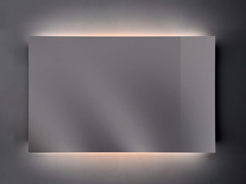 Rectangular wall-mounted mirror RAGGIO by Nic Design