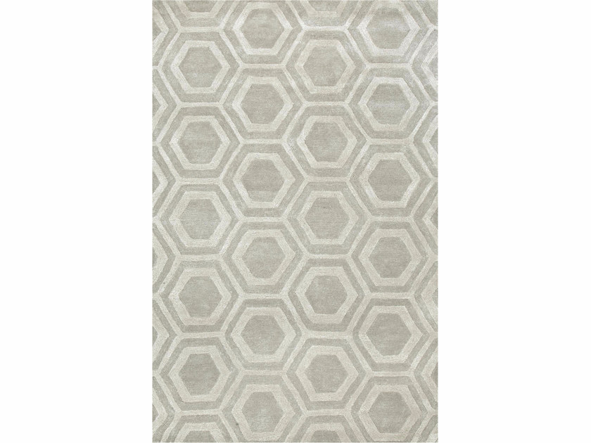 Rug with geometric shapes RANCHO - Jaipur Rugs