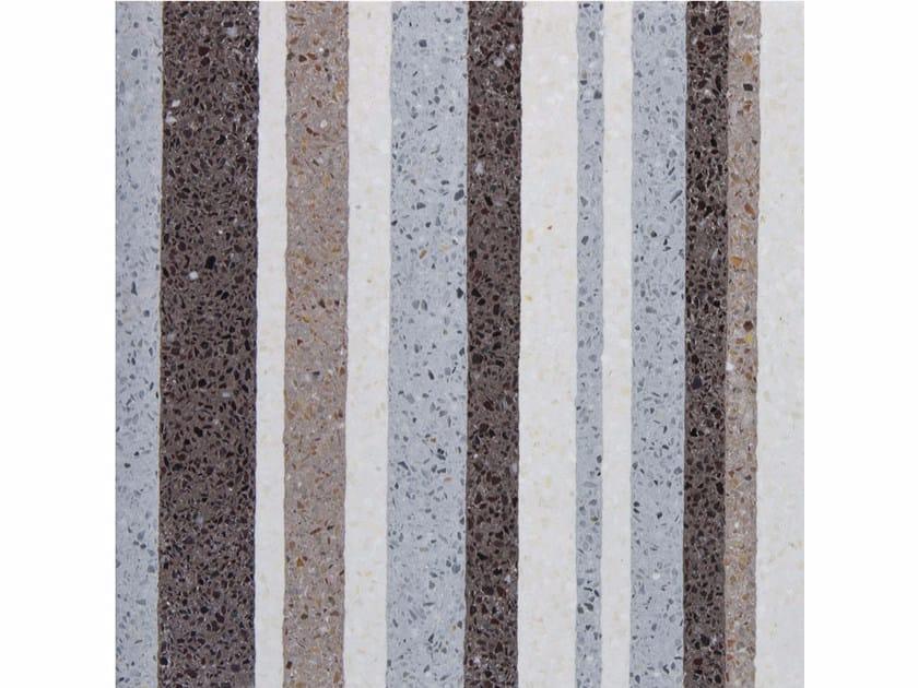 Marble grit wall/floor tiles RANDOM by Mipa