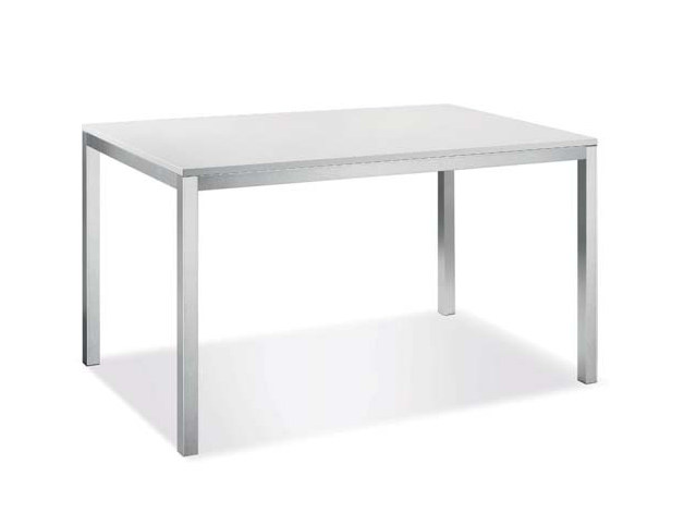 Rectangular laminate table RAPIDO - CREO Kitchens by Lube