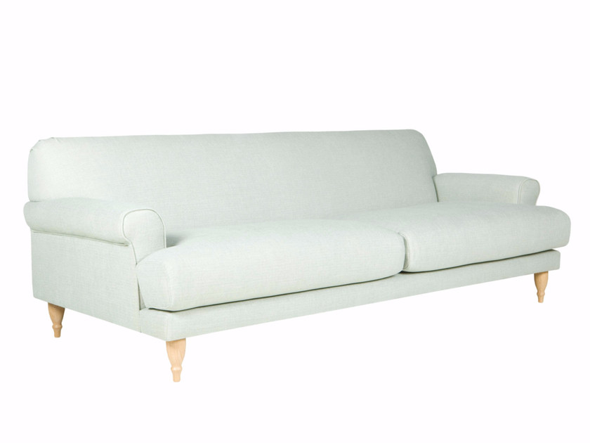 Upholstered 3 seater fabric sofa RASMUS | 3 seater sofa - SITS