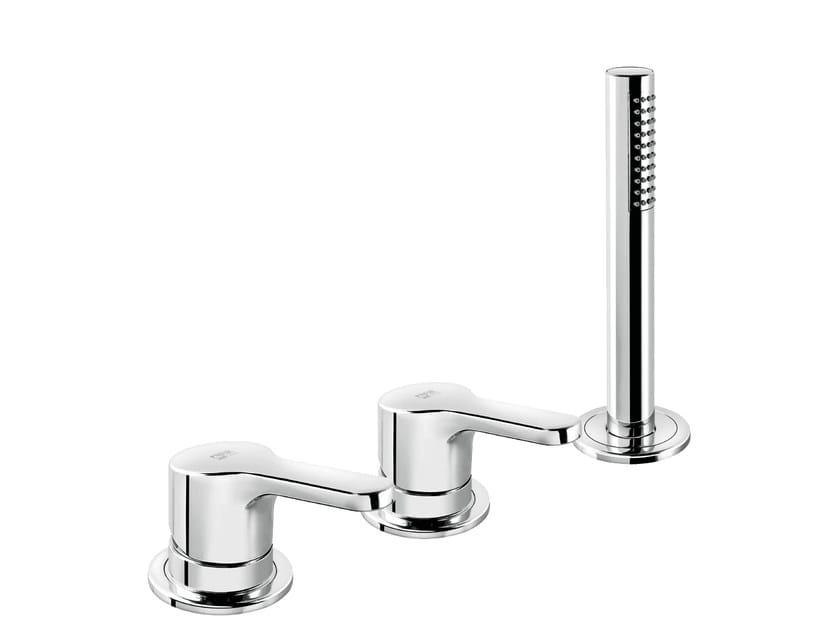 3 hole bathtub set with hand shower READY 43 - 4331504 - Fir Italia