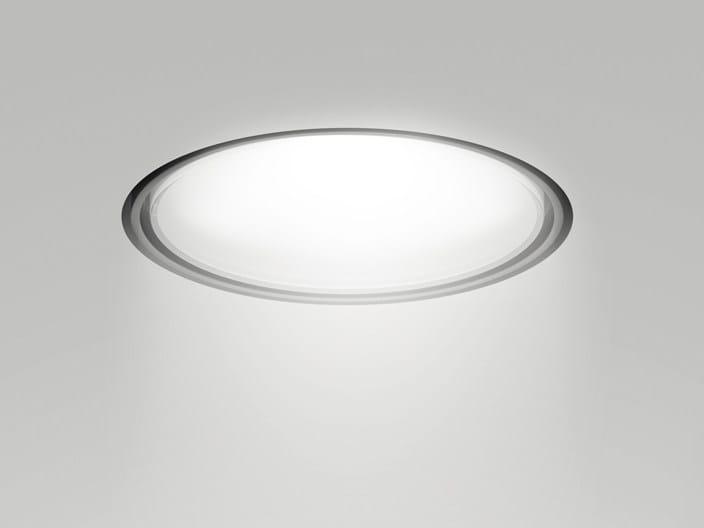 LED round recessed aluminium spotlight NODE | Recessed spotlight by Artemide