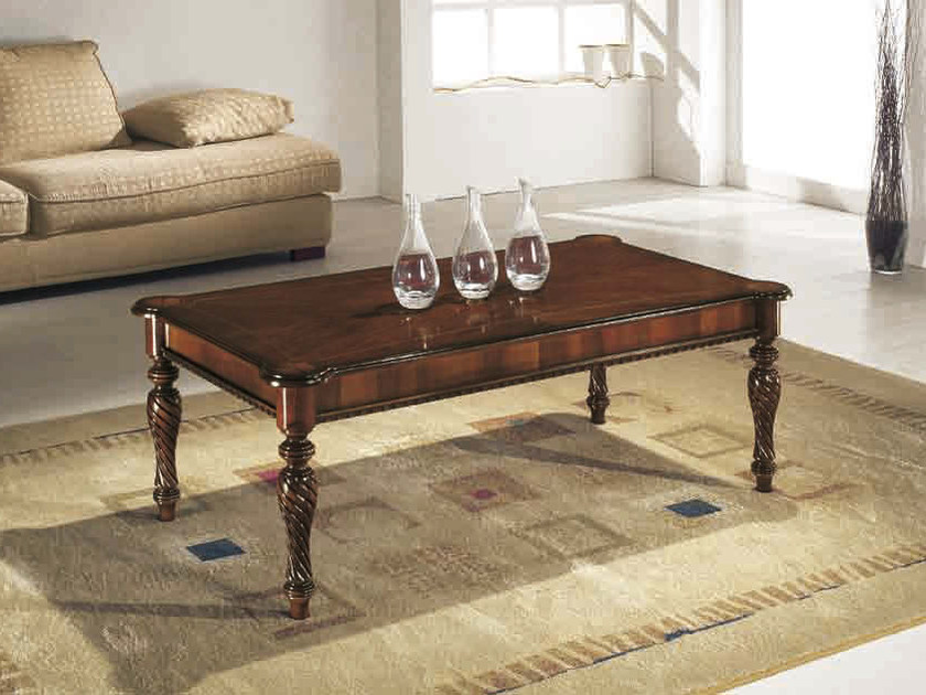 Rectangular solid wood coffee table ATHOS | Rectangular coffee table by Arvestyle