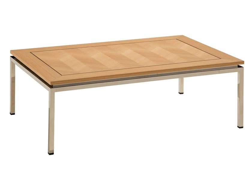 Rectangular coffee table for living room EPOQ | Rectangular coffee table by ROCHE BOBOIS