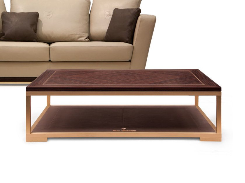 Low rectangular coffee table ESTORIL | Rectangular coffee table - Tonino Lamborghini Casa