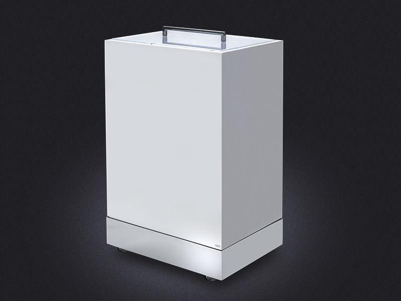 Resin laundry container RECTANGULAR   Laundry container - Vallvé Bathroom Boutique
