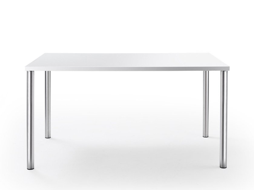 Rectangular laminate table TABULA | Rectangular table by rosconi