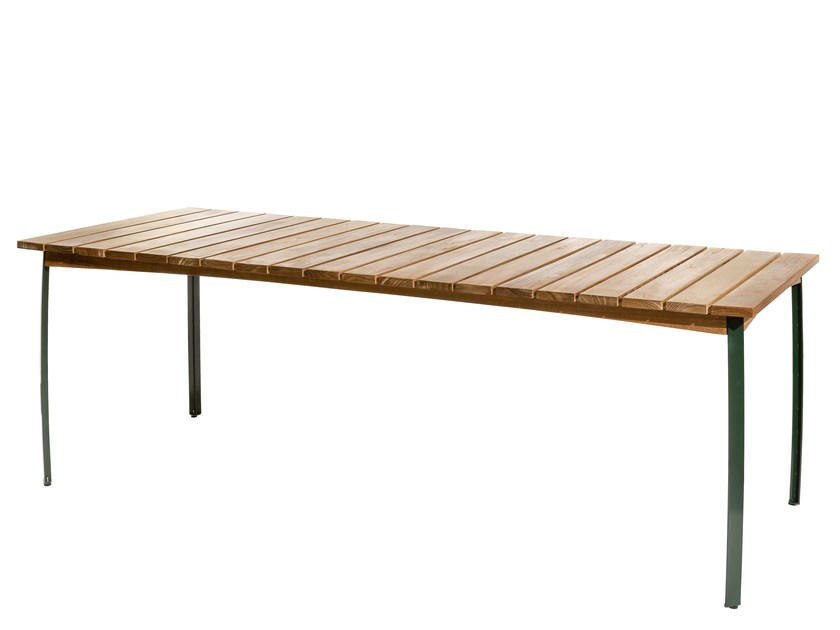 Rectangular garden table KERTEMINDE | Rectangular table by Skargaarden