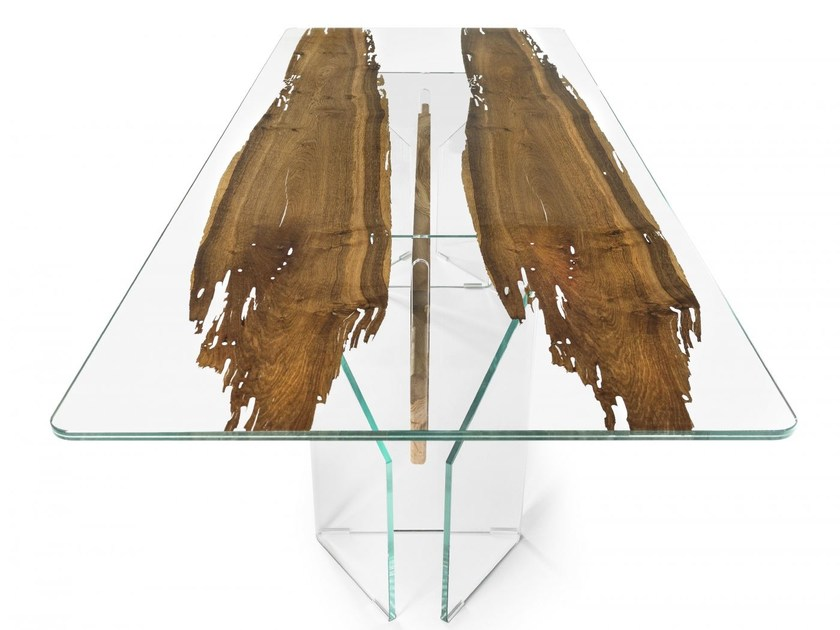 Contemporary style rectangular wooden living room table VENEZIA | Rectangular table - VGnewtrend