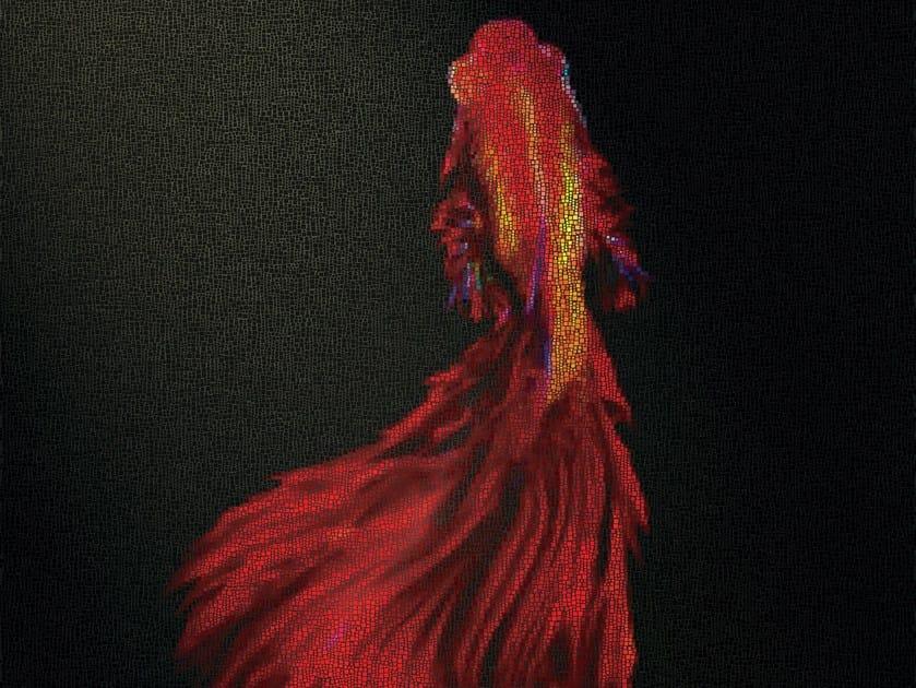 Mosaico in vetro RED FISH - DG Mosaic