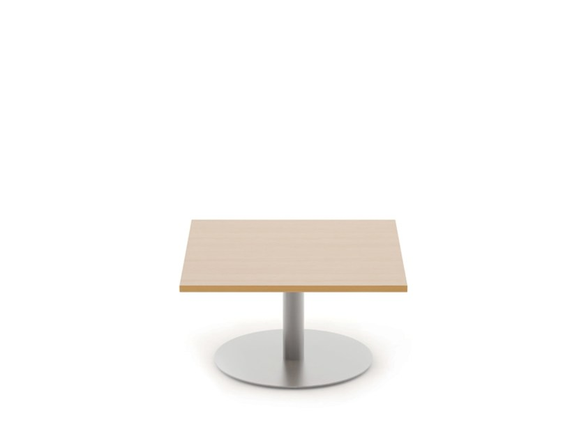Square melamine coffee table REEF | Square coffee table - Boss Design