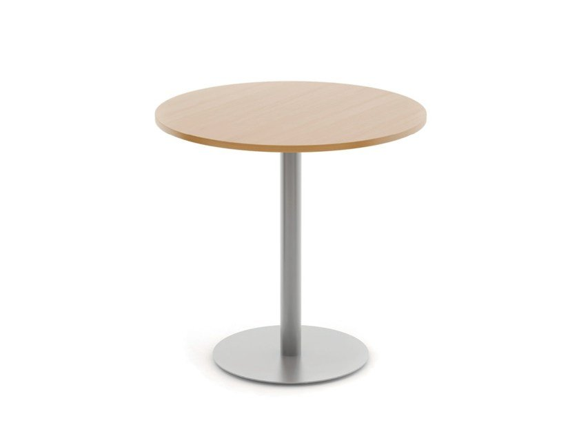 Round melamine table REEF | Table - Boss Design