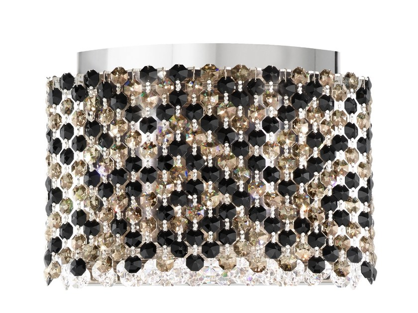 LED wall light with Swarovski® crystals REFRAX | LED wall light by Schonbek
