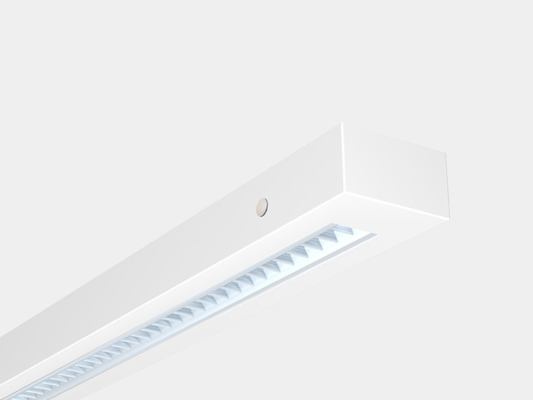 LED steel ceiling lamp REGIO by ES-SYSTEM