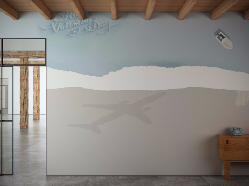 Washable vinyl wallpaper RELAX - GLAMORA