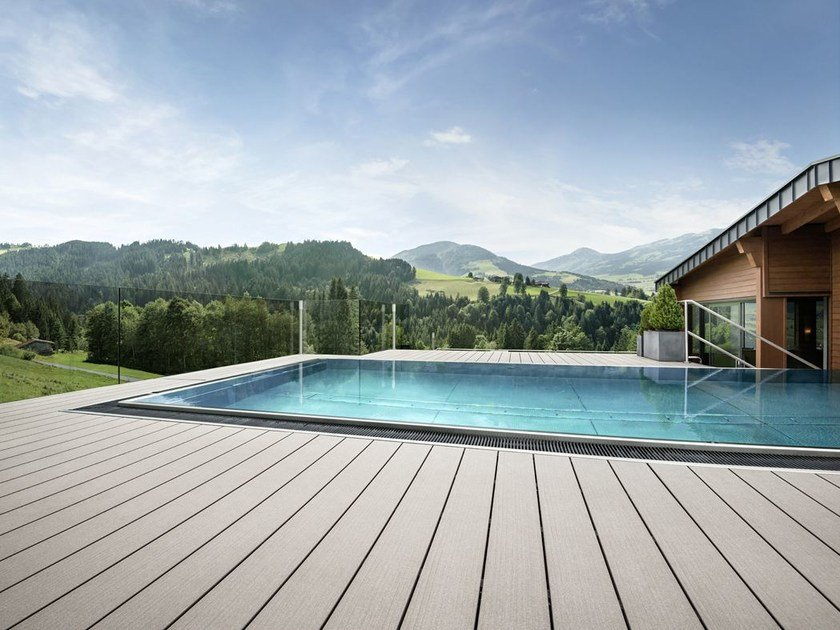 Decking in WPC RELAZZO FINELLO by REHAU