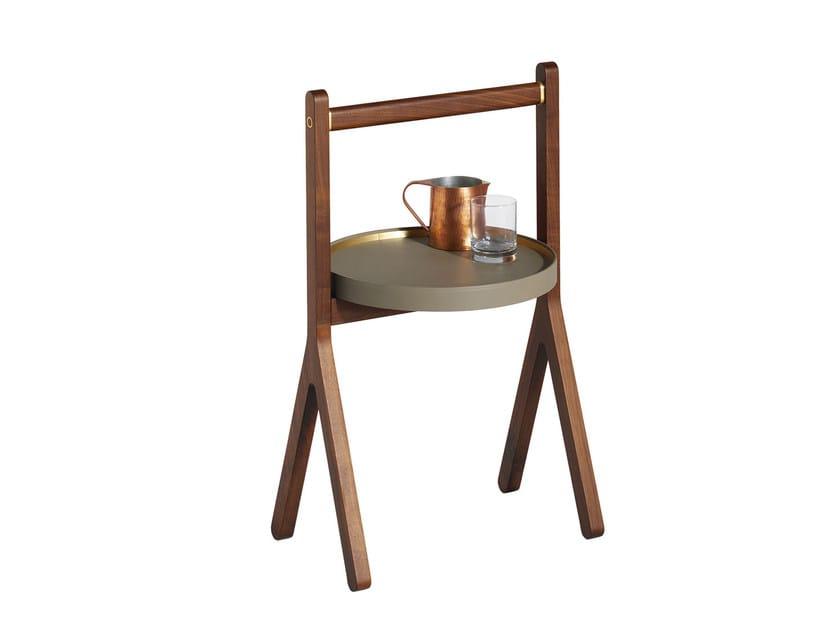 Wooden coffee table REN | Coffee table by Poltrona Frau
