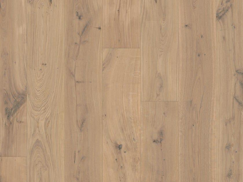 Brushed oak parquet RESIDENCE OAK by Pergo