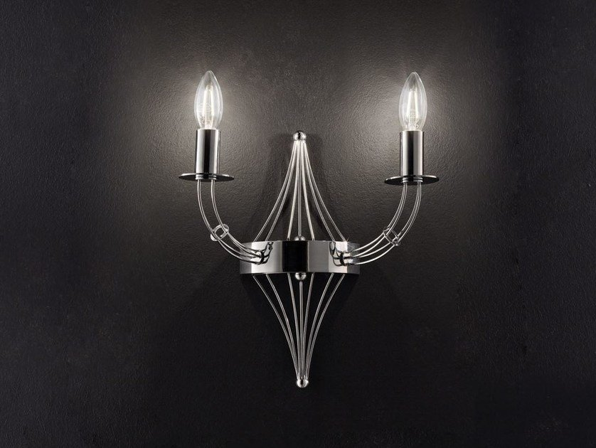 Direct light metal wall light RIALTO L 32 | Wall light - Metal Lux di Baccega R. & C.