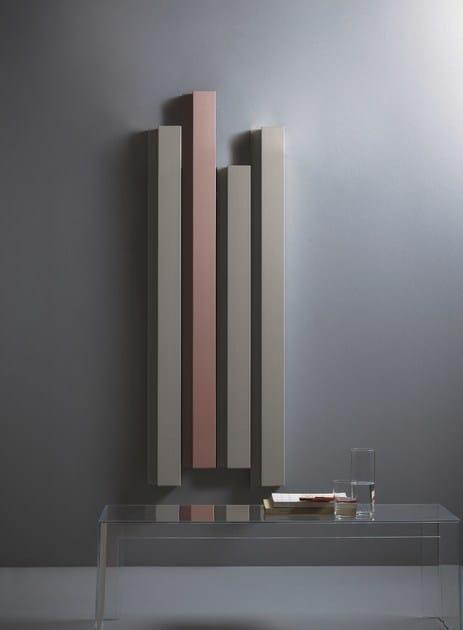 Radiatori Design Prezzi : Termoarredo ad acqua calda verticale in alluminio rift