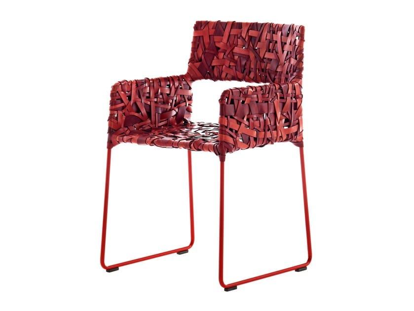 Easy chair RIKKA by Driade