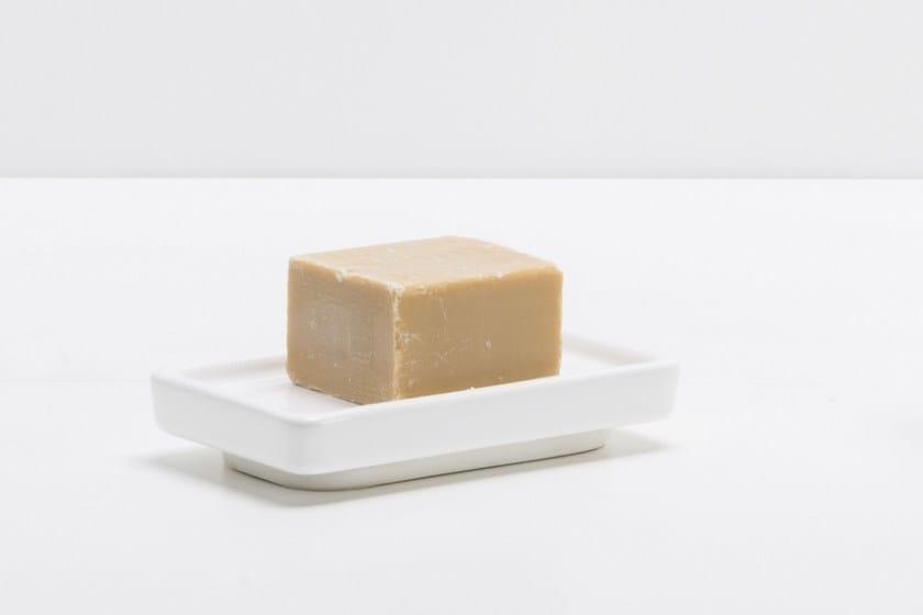Countertop ceramic soap dish RITMONIO ACCESSORIES | Ceramic soap dish - RUBINETTERIE RITMONIO