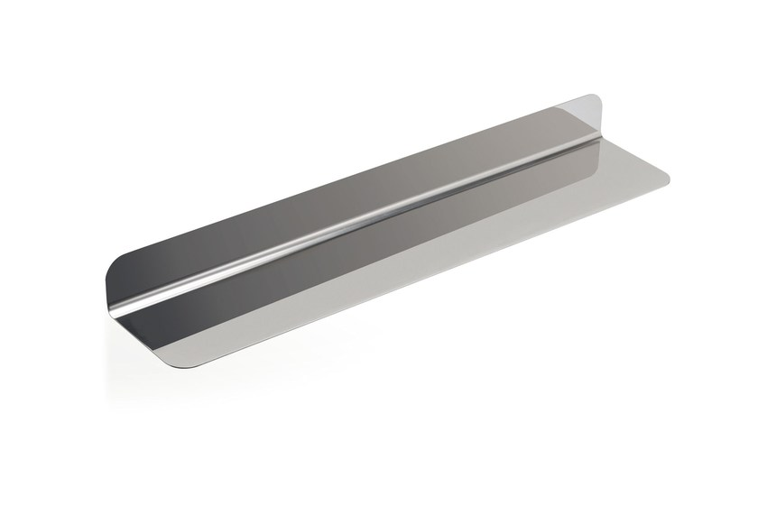Stainless steel bathroom wall shelf RITMONIO ACCESSORIES | Stainless steel bathroom wall shelf - RUBINETTERIE RITMONIO