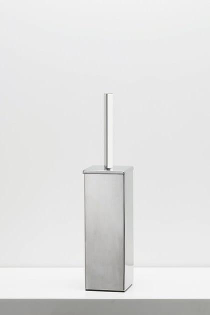 Stainless steel toilet brush RITMONIO ACCESSORIES | Stainless steel toilet brush - RUBINETTERIE RITMONIO