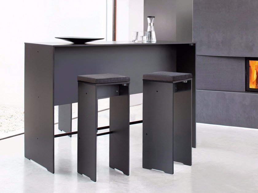 Rectangular HPL high table RIVA | High table - conmoto by Lions at Work