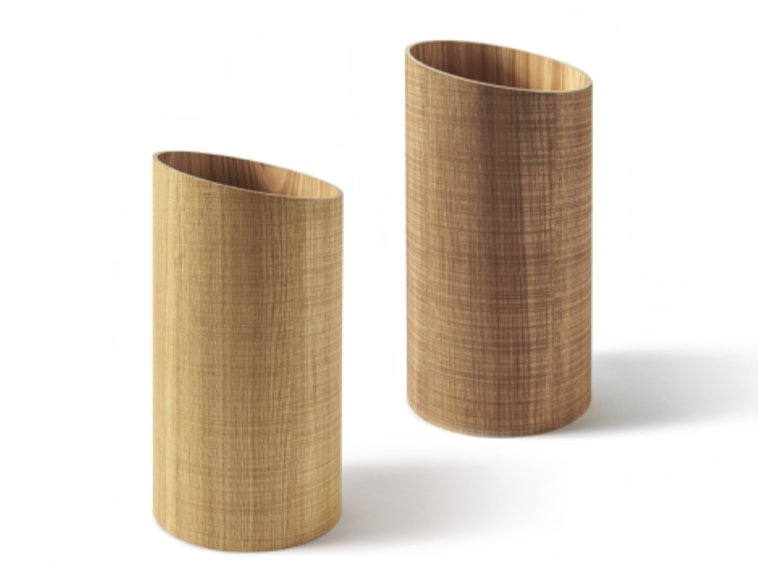 Floorstanding wood-product umbrella stand RIVIERA | Umbrella stand - Atipico
