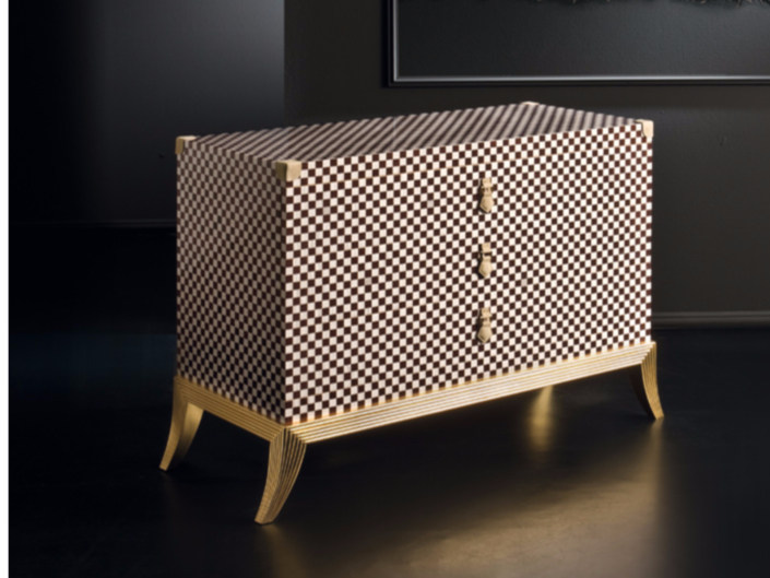 Lacquered wooden dresser RM162   Dresser - Rozzoni Mobili d'Arte