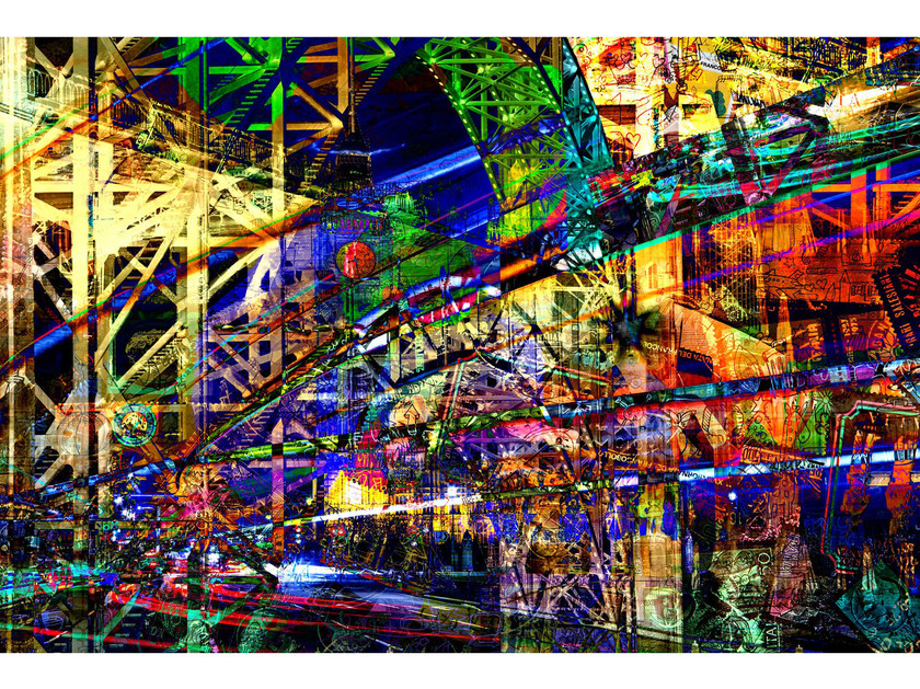 Photographic print ROBOT CITY II - FINE ART PHOTOGRAPHY by 99 Limited Editions