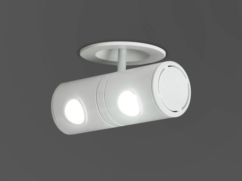 LED adjustable spotlight with dimmer ROBOTIC 6440 by Milan Iluminación