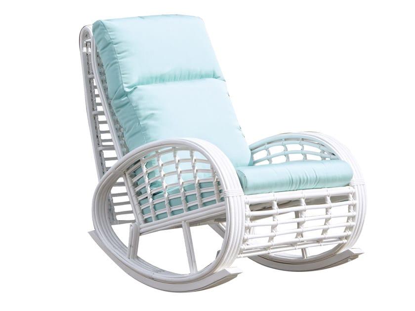 Rocking chair DINASTY 22858 - SKYLINE design