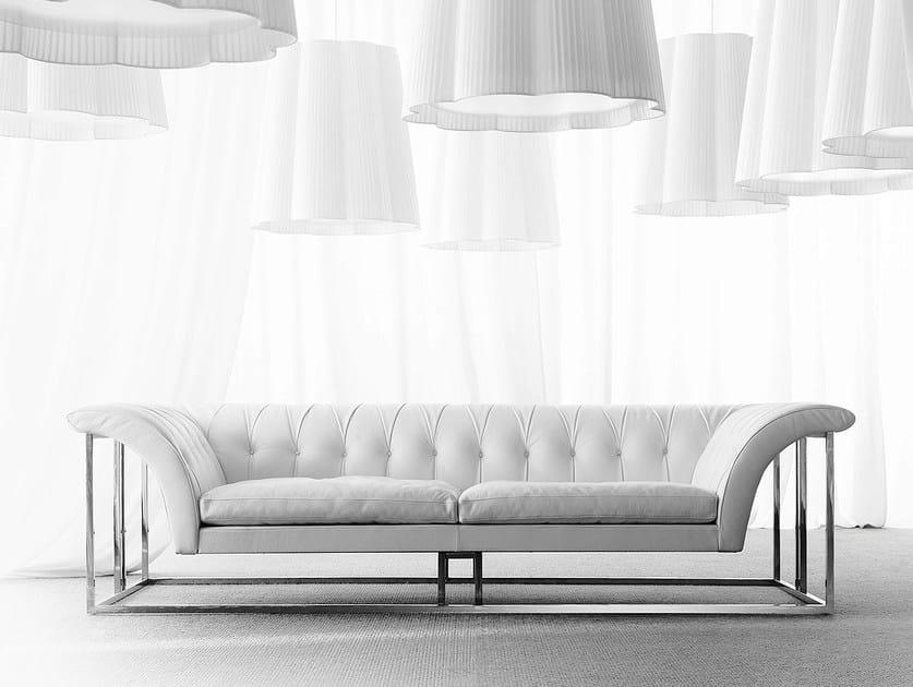 Tufted sofa ROCKOUTURE by ERBA ITALIA