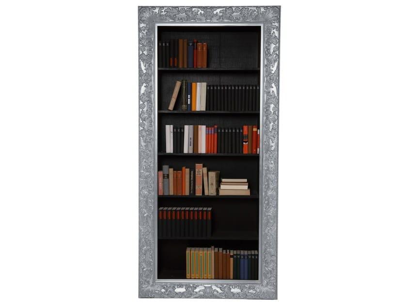 Lacquered bookcase ROKOKO SILVER - KARE-DESIGN