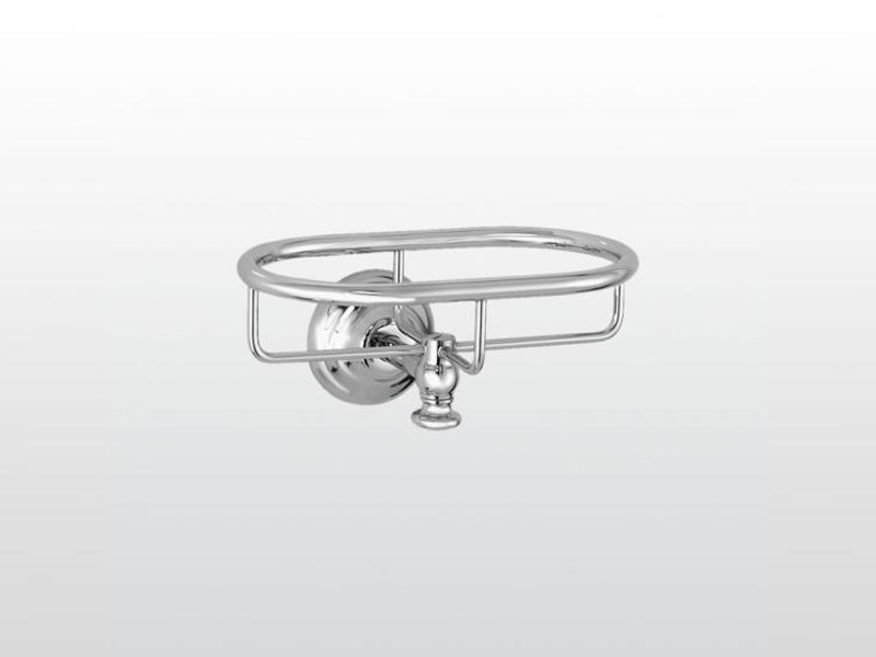 Wall-mounted metal soap dish ROMA | 1022 by RUBINETTERIE STELLA