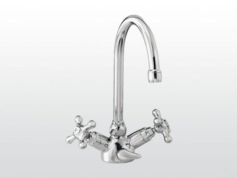 Chrome-plated 1 hole washbasin tap ROMA | 3217P - RUBINETTERIE STELLA