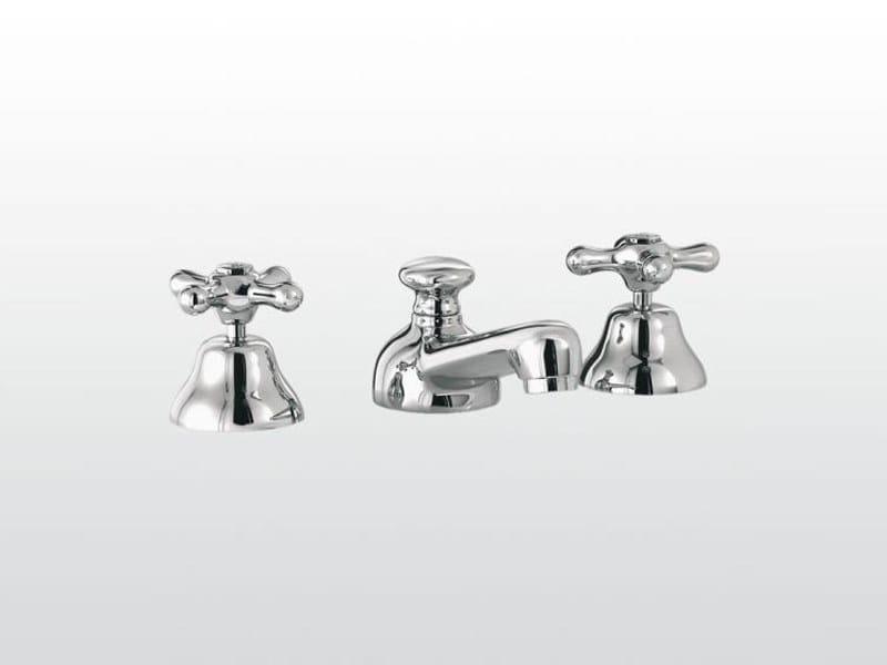 Stella Rubinetteria : Rubinetto per lavabo a fori roma rubinetterie