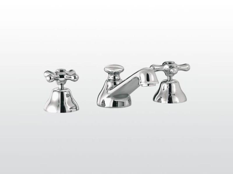 3 hole washbasin tap ROMA | 3224PTC by RUBINETTERIE STELLA